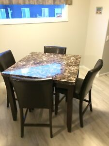 Kitchen table with 4 chairs $300
