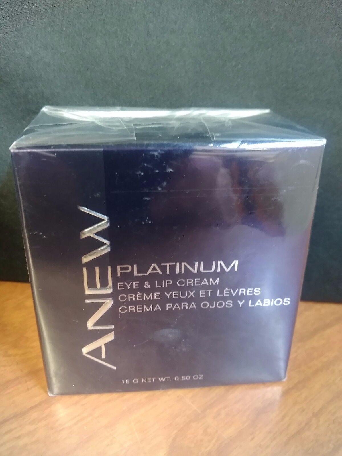 Avon~Anew PLATINUM Eye & Lip Cream w/ Dual-tip precision app