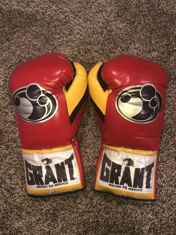 Grant Boxing gloves: 8oz Horsehair Fight Gloves