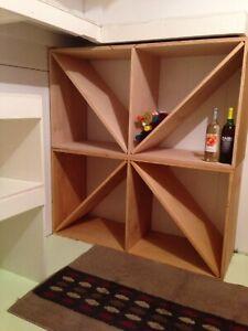 2- LARGE Wine Storage Units