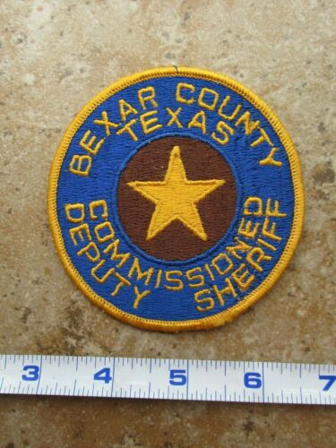 OBSOLETE State of Texas Bexar County Commissioned Deputy Sheriff Police Patch