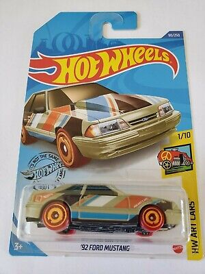 hot wheels 92 ford mustang 2020 - HW art cars - 1:64