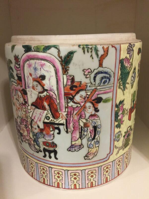 qing dynasty  Famille Rose Porcelain