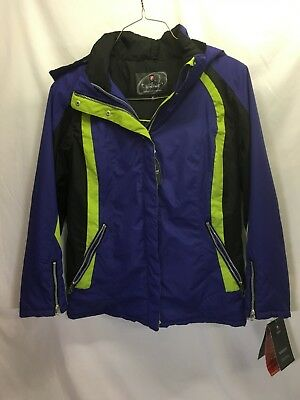 Protection System Performance Outerwear 4-in-1 Jacket Men's Blue NWT - Performance Outerwear