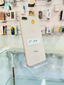 Immaculate iPhone 8 plus 64GB with no wear and tear with warranty