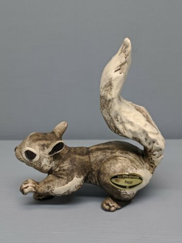 Old Monrovia Hagen Renaker DW Gray Squirrel Peggy