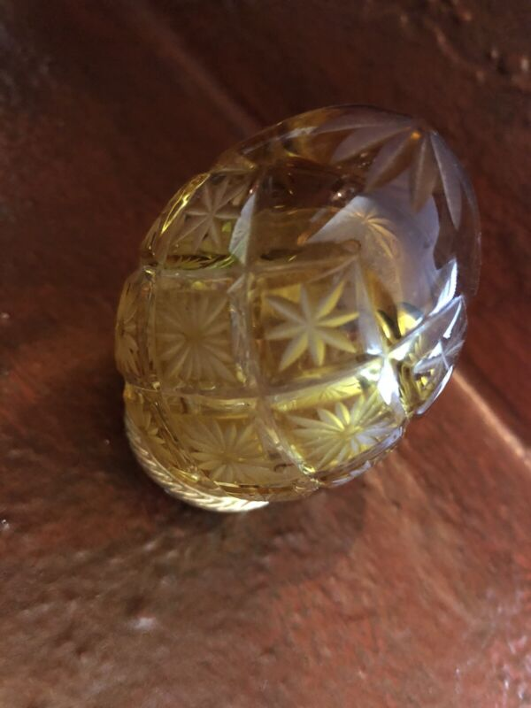 Fabrege Crystal Egg