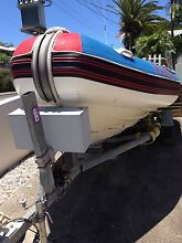 Gemini Diving fishing boat inflatable RIB twin 50 hp outboards Byron Bay Byron Area Preview