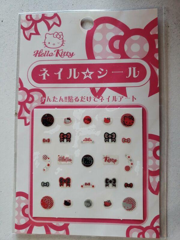 Sanrio Hello Kitty Nail Design Sticker Sheet Unopened