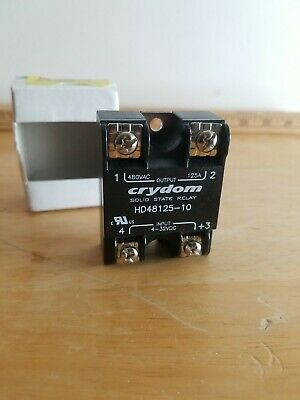 Crydom Hd48125g Solid State Relay Ssr Relay Panel Mount Free Shipping