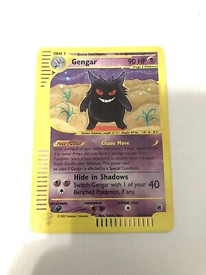 Gengar - 13/165 - Holo Expedition Pokemon - Card - WOTC - E-reader