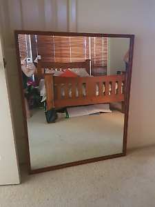 Solid timber mirror East Maitland Maitland Area Preview