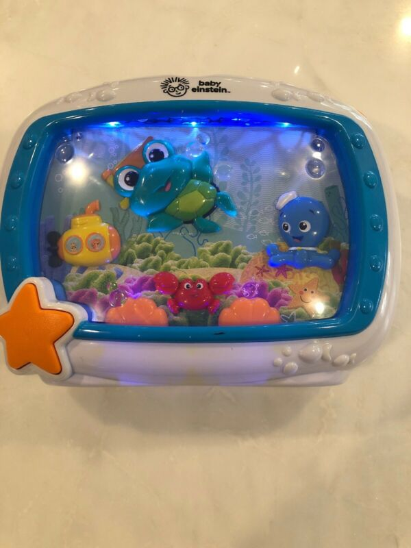 Baby Einstein Sea Dreams Soother Aquarium Light Sound Sleep Machine Fish Tank