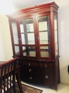 Mahogany Dining Set 6 Piece