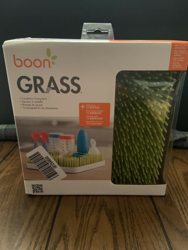 Boon Lawn Countertop Drying Rack - Green, Unopened
