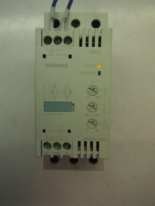 Siemens 3RW3034-1AB04 Sirius Soft Starter