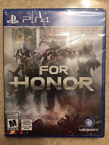 PS4 For Honor Brand New Sealed