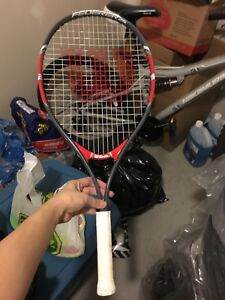 Super light tennis racket