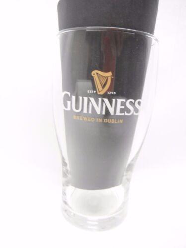 Guinness GLASS PINT Porter  BEER  BARWARE  irish MAN CAVE DUBLIN IRELAND BAR