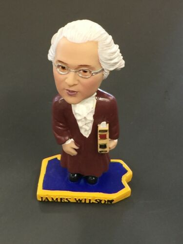 Green Bag Bobblehead Supreme Court Justice James Wilson (still in box)