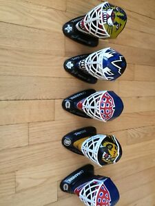 Masque mini hockey gardien collection McDonald NHL