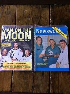 Vintage collectible History Space Magazines $20obo