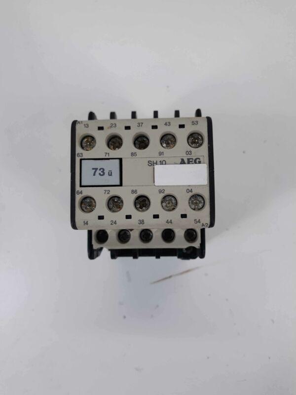 AEG 910-302-827-88 73u SH10 Contactor 110v Coil