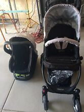 Steelcraft cruiser pram and capsule Clarkson Wanneroo Area Preview