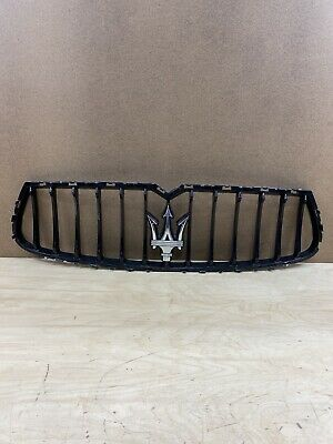 2014 Maserati Ghibli S Q4 Front Bumper Grille Grill OEM AM *Note