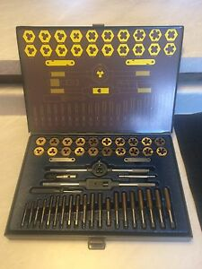 Mastercraft tap and die set