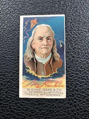 N76 Duke Great Americans Set Break Ben Franklin
