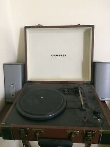Record Player and Bose speakers