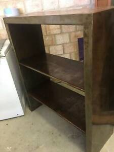 Metal Unit with Shelves