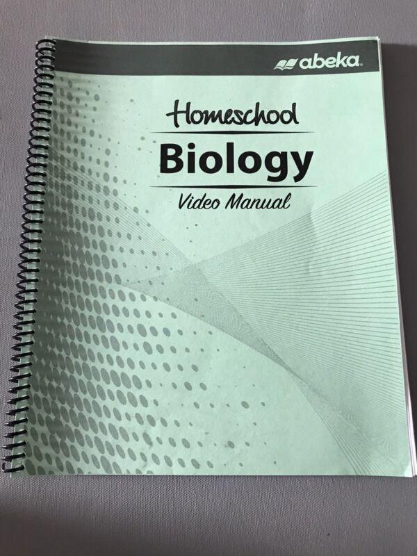Abeka 10th Grade Science Biology Teacher Current Homeschool Video Manual