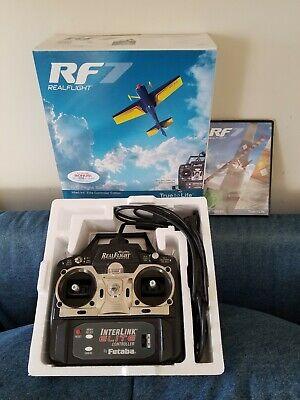 RealFlight RF7 Software And Futaba InterLink Controller