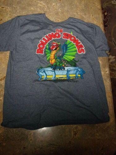 Bravado Rolling Stones Dragon Concert Tee-Shirt Size XL