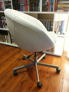 Ikea SKRUVSTA swivel desk chair (Idhult White) Hornsby Hornsby Area Preview