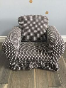 Adorable fabric toddler rocking chair