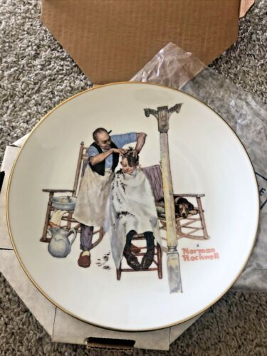 Norman Rockwell Plate Spring Sweet Serenade 1977 Limited Edition