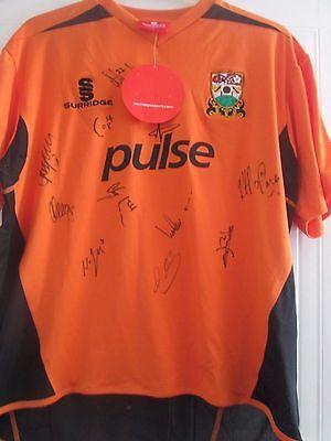 Barnet Home 2011-2012 Football Shirt Squad Signed COA /40885 image