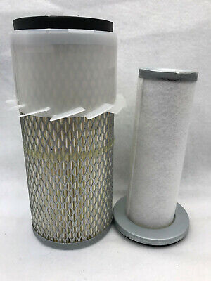 Filter Air Combo For John Deere Element Am108243 Primary M94734 Secondary 455