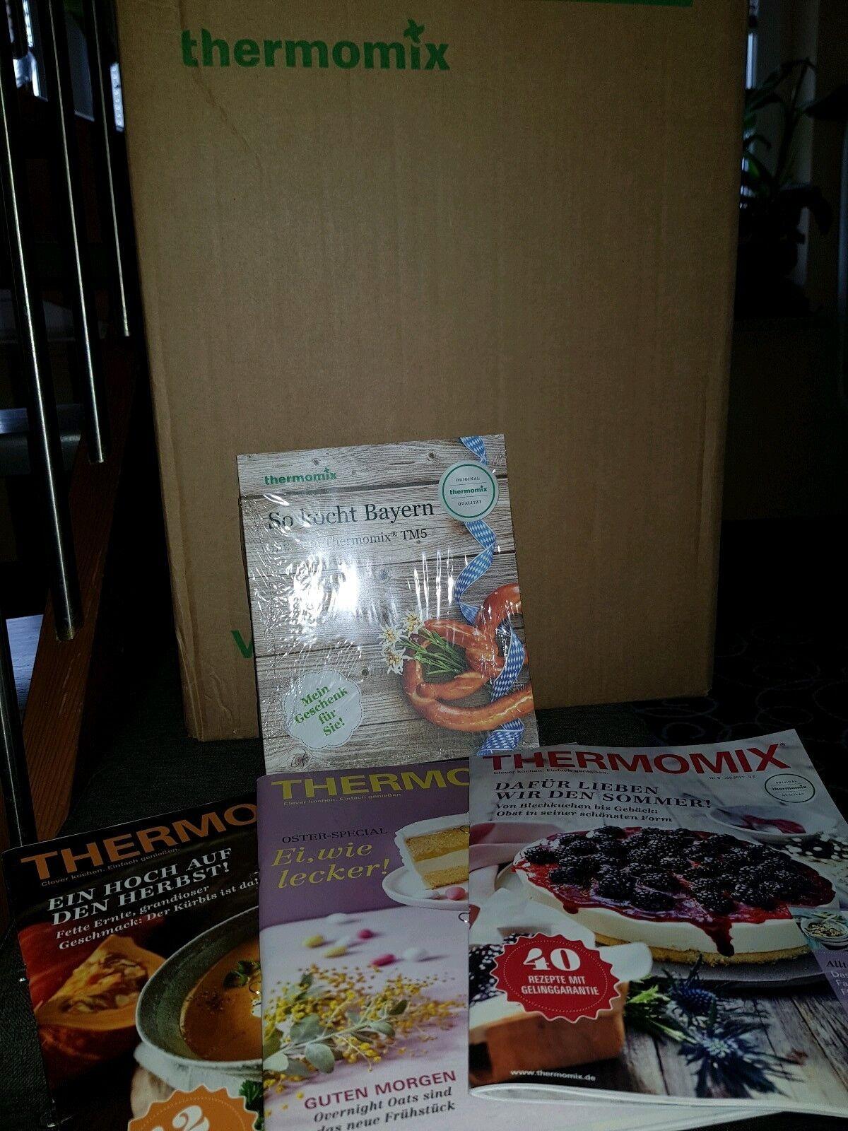 Thermomix TM5 Original NEU OVP mit Zubehör, Cook-Key, Kochbuch und Rechnung