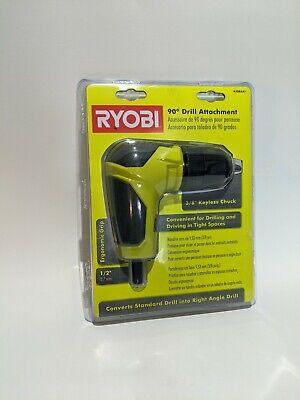 Ryobi 18 Volt Right Angle 90 Degree Drill Attachment 38 Chuck A10raa1