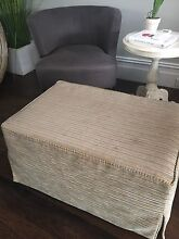 Ottoman with loose slip cover Naremburn Willoughby Area Preview