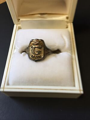 1940s Jewelry Styles and History 1940s Premium Ring- Gman Radio Show $7.99 AT vintagedancer.com