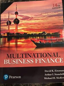 Multinational Business Finance 14th edition