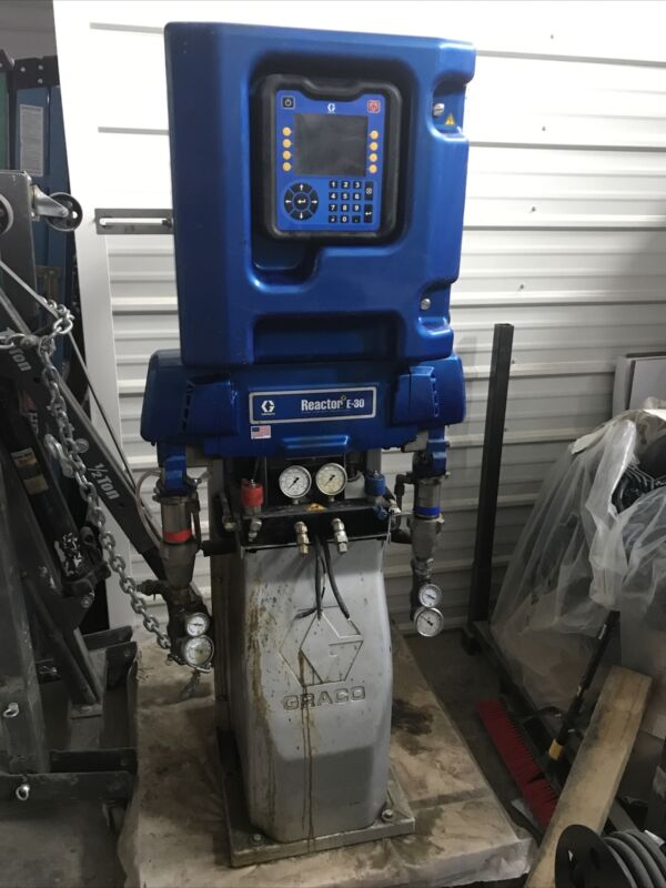 Graco Reactor 2 E-30 Elite with Insite, 10.2 kW Heaters - 272110