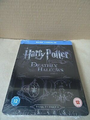 Harry Potter and the Deathly Hallows: Part 1 Limited Edition Blu-ray Steelbook