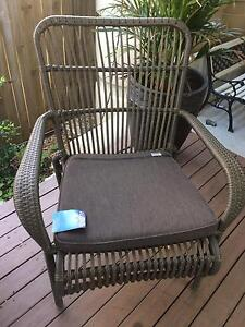 Brand new mimosa rattan out door chair Bellbird Park Ipswich City Preview