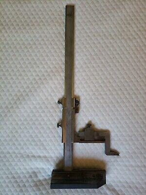 Etalon Switzerland 15 Stainless Steel Vernier Height Gage Gauge 20c 11000